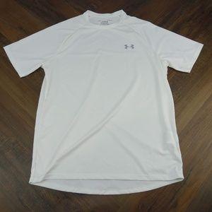 Under Armour Men's White Tech Short Sleeve T-Shirt